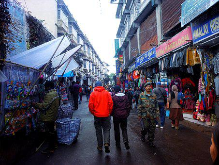 Streets, Market, Buying, Selling, Shops, Stores