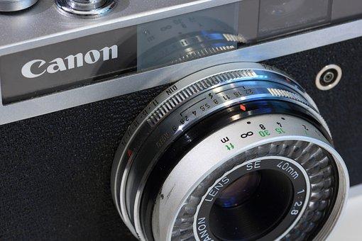 Canon, Canonet, Junior, Film, Camera, Lens, 35 Mm