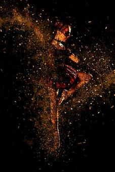 Ballet, Girl, Dancer, Dance, Movement, Art, Person, Red
