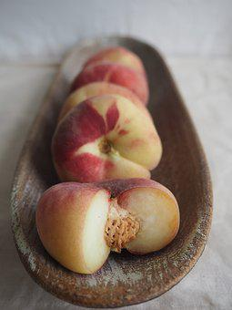 Fruit, Peach, Flat Peach, Eat, Fruits, Delicious
