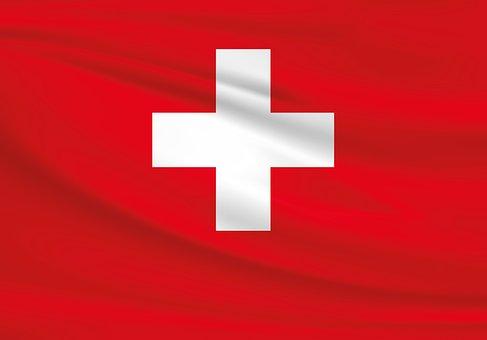 Switzerland, Flag, Cross, White, Red, Swiss Flag