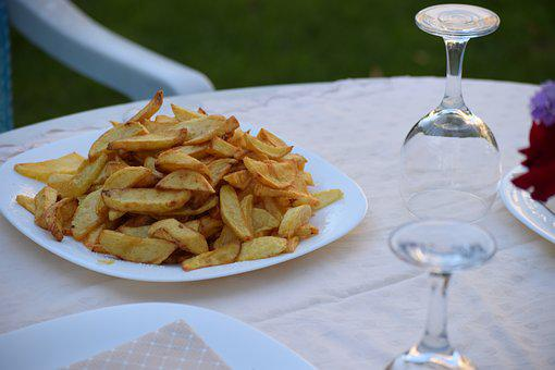 French Fries, Homemade, Vegetables, Potatoes, Barbecue