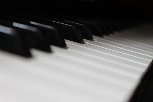 Music, Piano, Instrument, Musician, Black, Classical