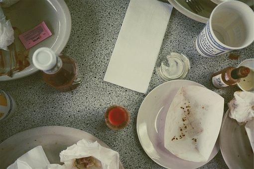 Restaurant, Food, Lunch, Dinner, Eating, Ketchup