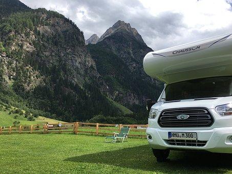 Mountains, Freedom, Summer, Alpine, Landscape