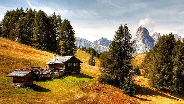 Alta Badia, Dolomites, Nature, Unesco World Heritage