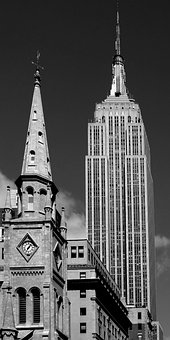 New York, Ny, United States, Architecture, Downtown