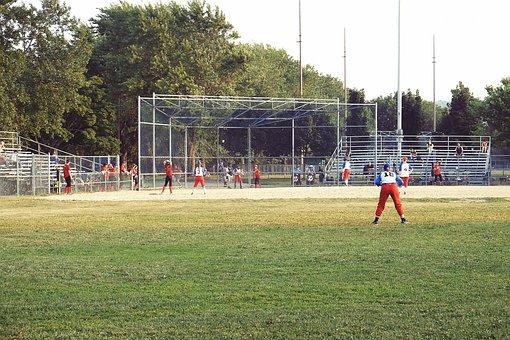Baseball, Sports, Park, Field, Mound, Diamond