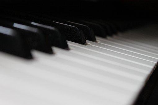 Music, Piano, Instrument, Musician, Black, Classical