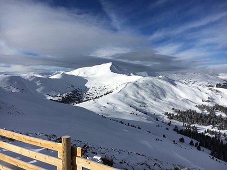 Skiing, Copper Mountain, Rocky Mountains