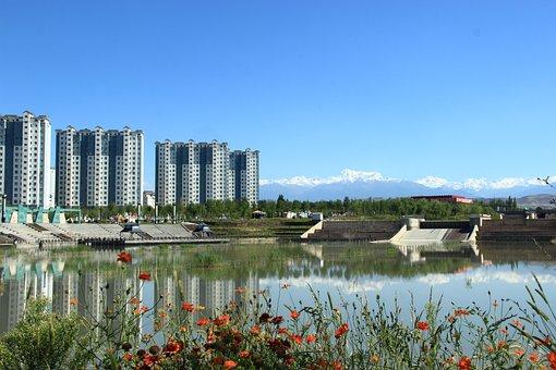 Fukang, 博格达峰, Summer