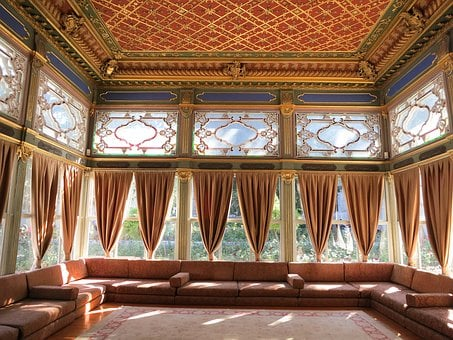 Rug, Couches, Curtains, Drapes, Windows, Ceiling
