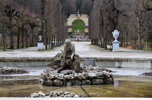 Vienna, Austria, Schönbrunn, Castle Park