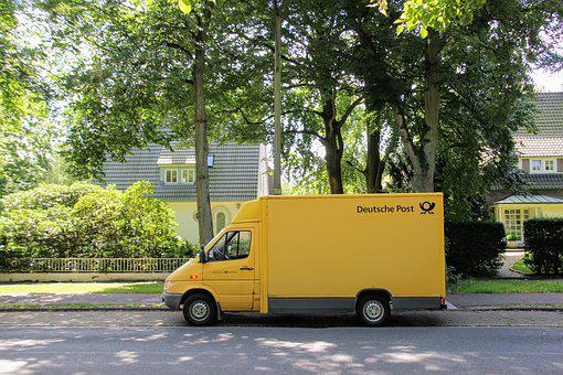 Post, Post Vehicle, Vans, Delivery Car, Auto