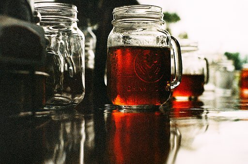 Mason Jar, Beer, Brew, Booze, Alcohol, Bar, Drink