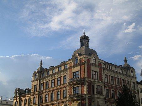 örebro, Building, Beautifully, Beautiful, Blue Sky