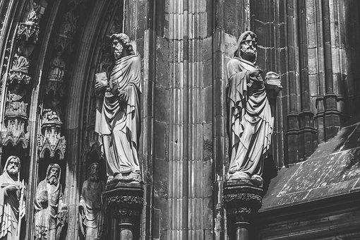 Cologne, Cathedral, Germany, Landmark, Church, Building