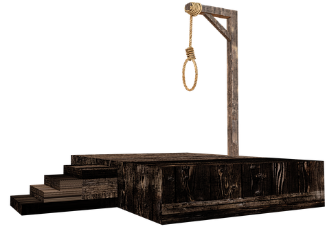 Gallows, Hang, Penalty, Capital Punishment, Judgment