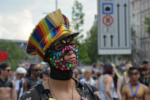 Human, Man, Csd, Christopher Street Day, Parade
