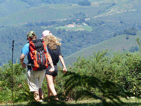 Hikers, Hiking, Nature, Path, Trail, Mountain, Holiday