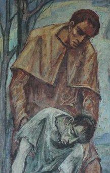 Merciful Father, Prodigal Son Detail, Faith, Religion
