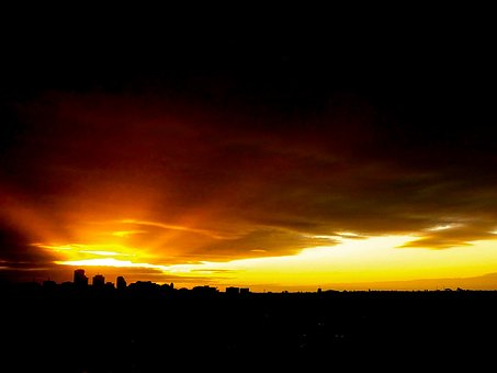 Sunset, Australia, Adelaide, Landscape, Nature, Sky