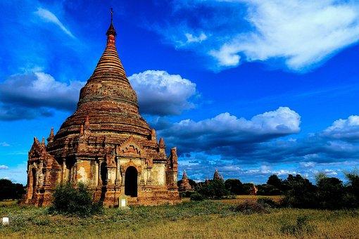 Myanmar, Burma, Asia, Travel, Temple, Culture, Buddhism
