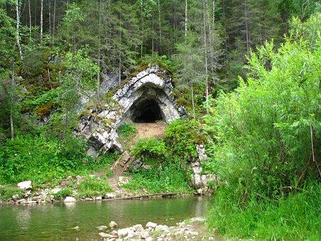 R, The Koiva, Grotto Stove, Perm Krai