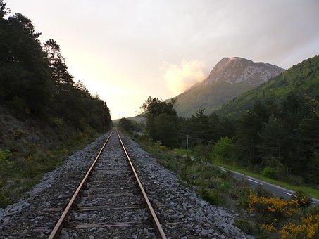 Rail, Rails, Track, The Rail, Gorges De Pierre Lys