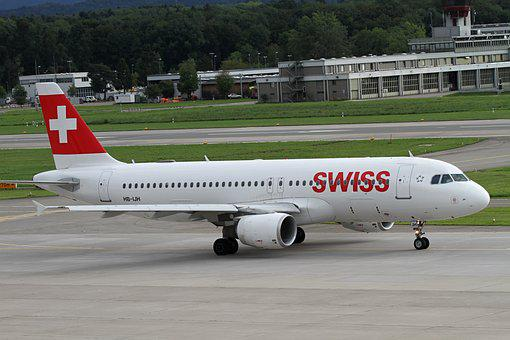 Aircraft, Swiss, Aviation, Swiss Airlines