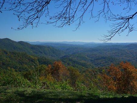 Blue Ridge Mountains, Blue Ridge Parkway, Blue, Scenic