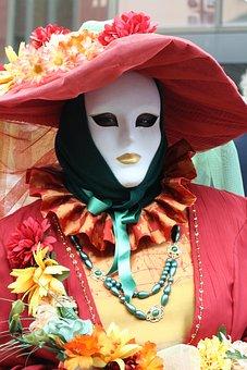 Mask, Carneval, Costume, Carnival, Masquerade