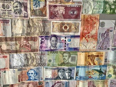 Money, Dollar, Currency, Peso, Bill