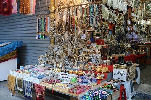 Bazaar, Istanbul, Present Turkey, Ornament