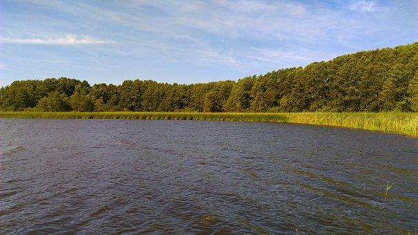 Water, Lake, Nature, Pond, Lagoon, Masuria, Landscape