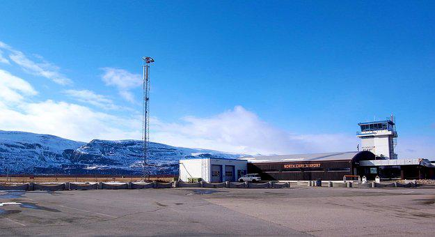 Norway, Lakselv, Airport, Most Northern, Finnmark