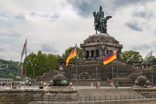 Koblenz, German Corner, Rhine, Mosel