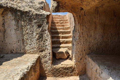 Cyprus, Ayia Napa, Makronissos, Tomb, Roman, Ancient