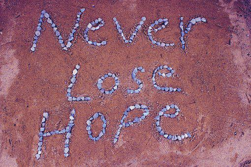 Never Lost Hope, Hope, Sand, Stone