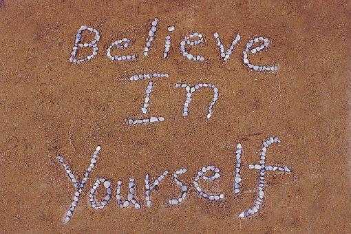 Believe In Yourself, Sand, Stone