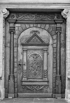 Duisburg, Town Hall, Entrance Door, Sw