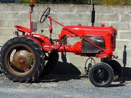 Tractor, Farmall, Tractor Farmall, Former
