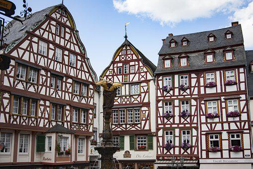 Mosel, Bernkastel Kues, Truss, Historically, Old Town