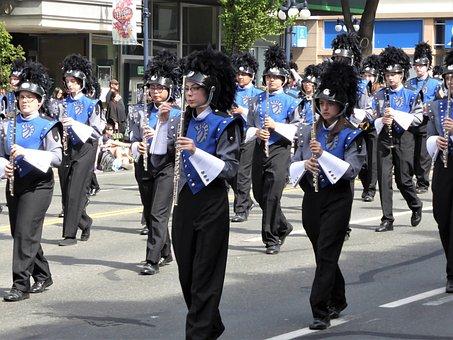 Fanfare, Music, Parade, Flute, Wind Instrument