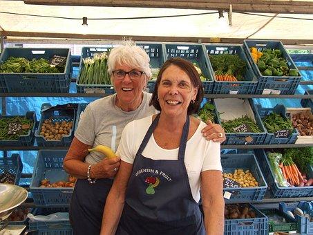 Linden Market, Jordaan, Amsterdam, Trade, Vegetable