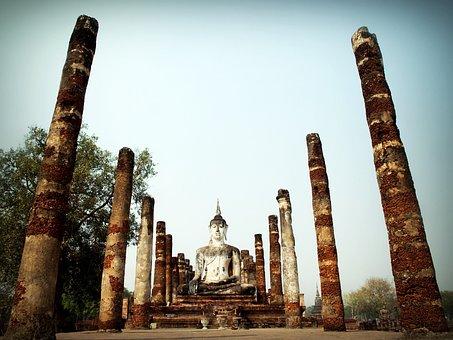 Ancient, Architecture, Art, Asia, Ayutthaya, Bangkok
