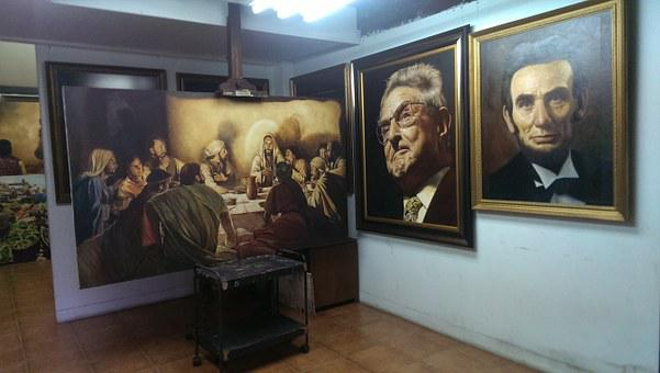 Picture, Frame, Art, Museum, Jakarta