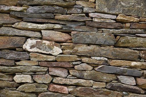 Stone Wall, Wall, Old, Stones, Background, Boulders