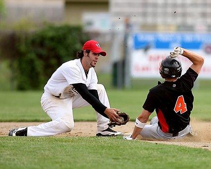 Baseball, Short Stop, Baseball Player, Sport