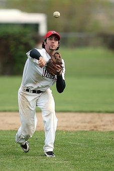 Baseball, Baseball Player, Game, Ball, Sport, Uniform